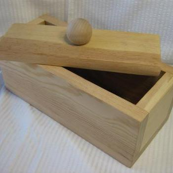 3 Pound Wood Soap Mold With Lid - Handmade in Colorado