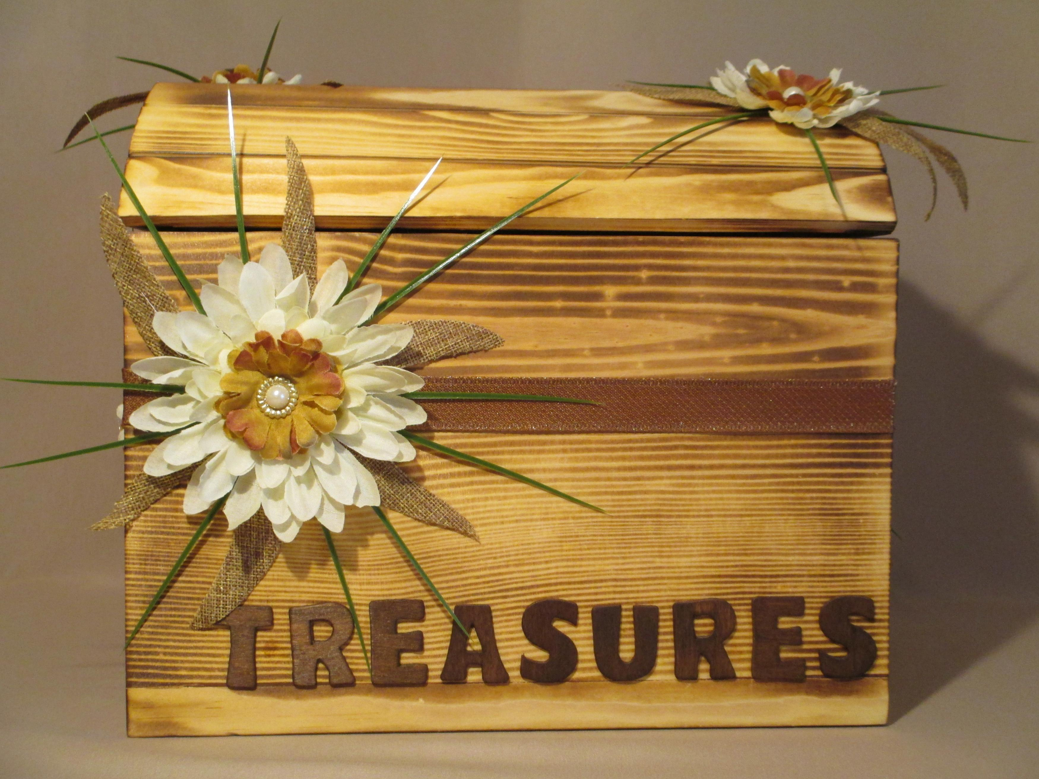 OAK Card Box Custom Built Wedding Card Box Forever – Wedding Card Keepsake Box
